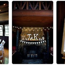 Wedding Collage at the Water Witch Club in Highlands NJ