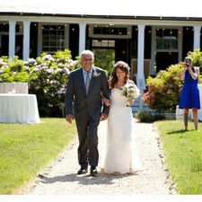 Wedding Ceremony at the Water Witch Club in Highlands NJ