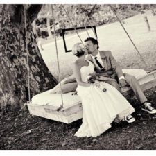 Wedding Couple at Bayonet Farm in Holmdel NJ
