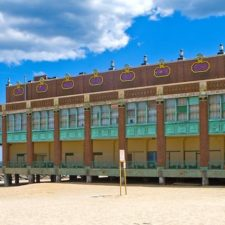 Outdoor View at the Convention Hall in Asbury Park NJ